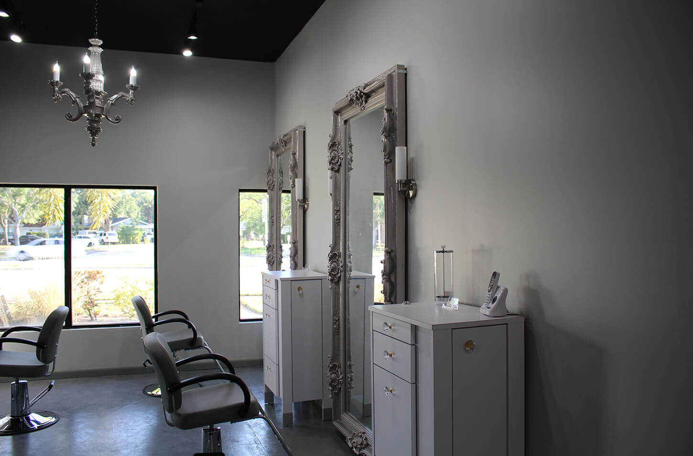 Salon Color Bar 2 styling station
