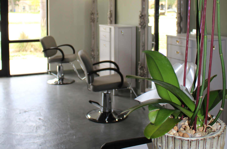Salon Color Bar styling station