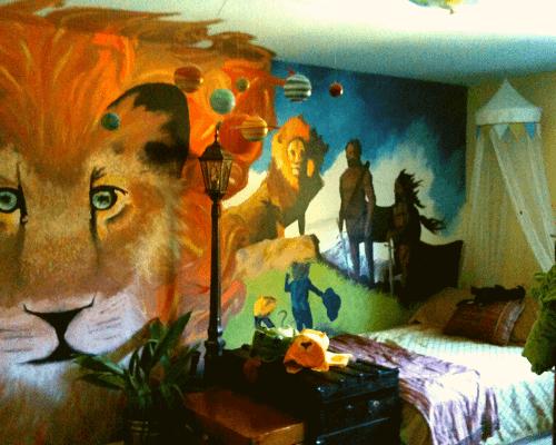 Fun Narnia Mural 306